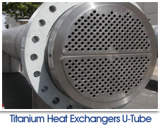 Titanium Heat Exchangers U-Tube
